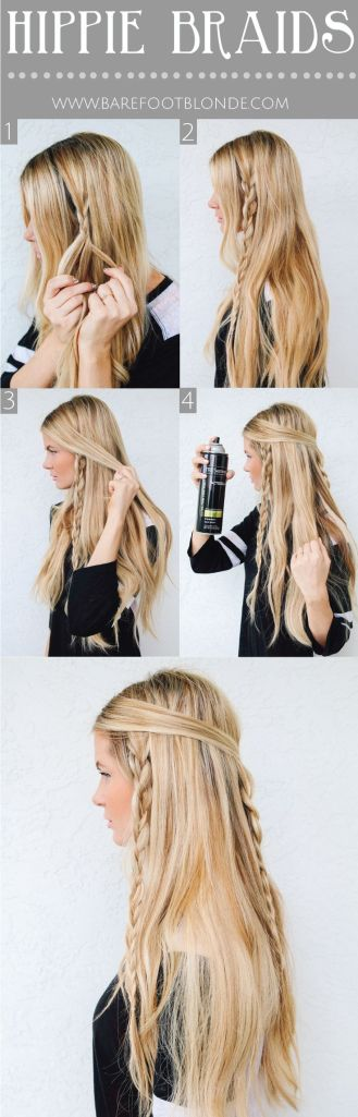 how to do hippie braids