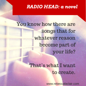 RADIO HEAD, a novel Chapter Two quote, Zac