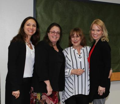 Writers! Anne Clermont (LEARNING TO FALL), Isabel Gates, Jacquelyn Mitchard (THE DEEP END OF THE OCEAN), Rebecca Laclair